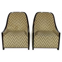 Mid-Cenytury Club Chairs, Pair