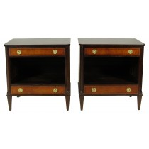 Regency-Style End Tables, Pair