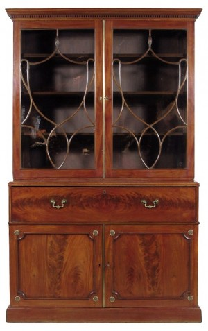 George III Secretary Bookcase/THIS ITEM HAS BEEN SOLD