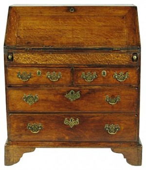 18th-C. Georgian Desk